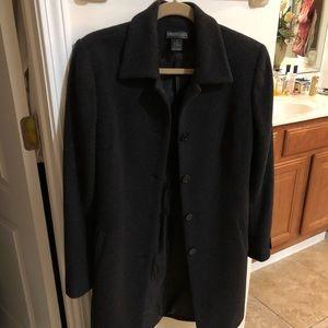 NWOT. Long winter coat in size 8